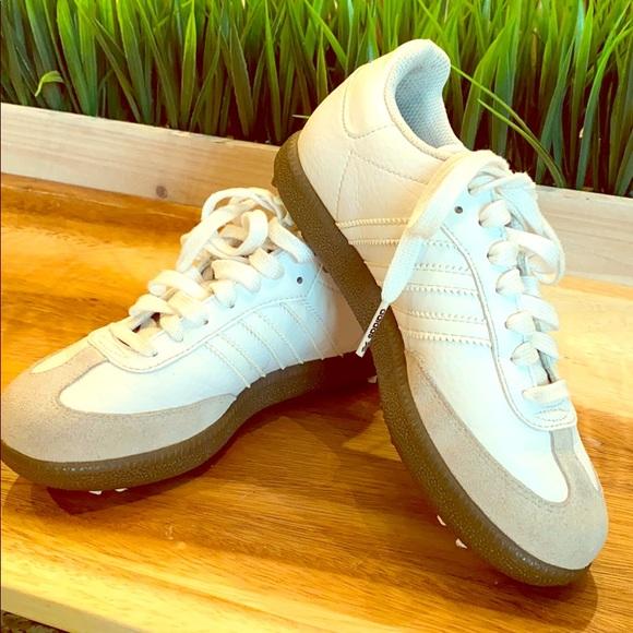 Adidas Shoes Kids Samba Golf Sneakers 25 Poshmark